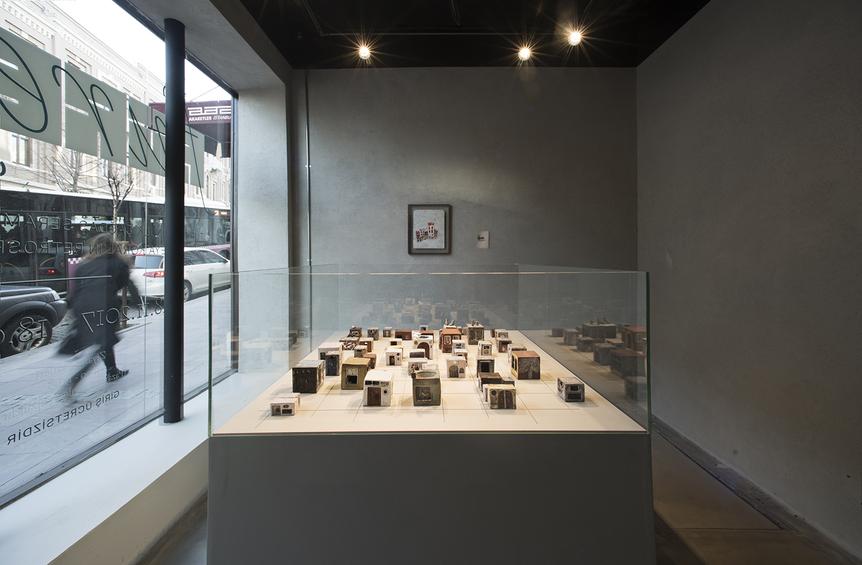 "Installation view of  FÜREYA KORAL 's ""Füreya"" at Akaretler Sıraevler, Istanbul, 2017–18. Courtesy Karşılaşmalar, Istanbul."