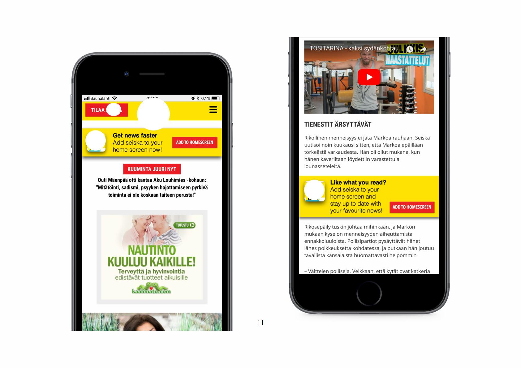 Various user activation designs — tjhien liao