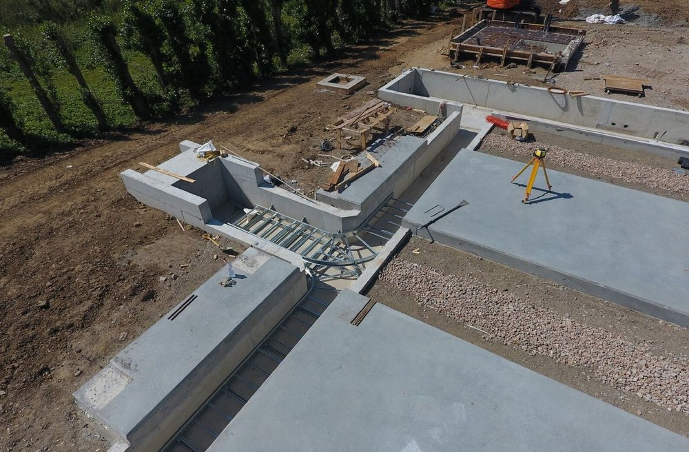 RC Concrete Works - ✓  Foundations✓  RC Slabs✓  Formwork✓  Retaining Structures✓  RC Concrete✓  Ground Beams
