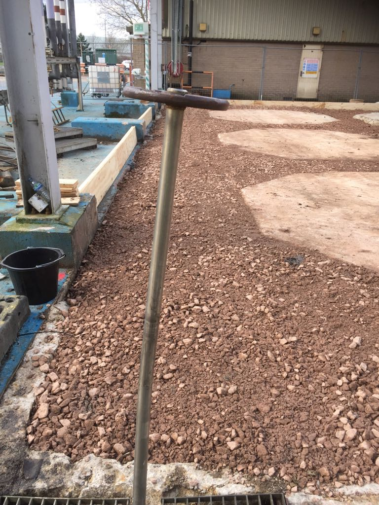 Stoning Up Around Existing Pads 2.JPG