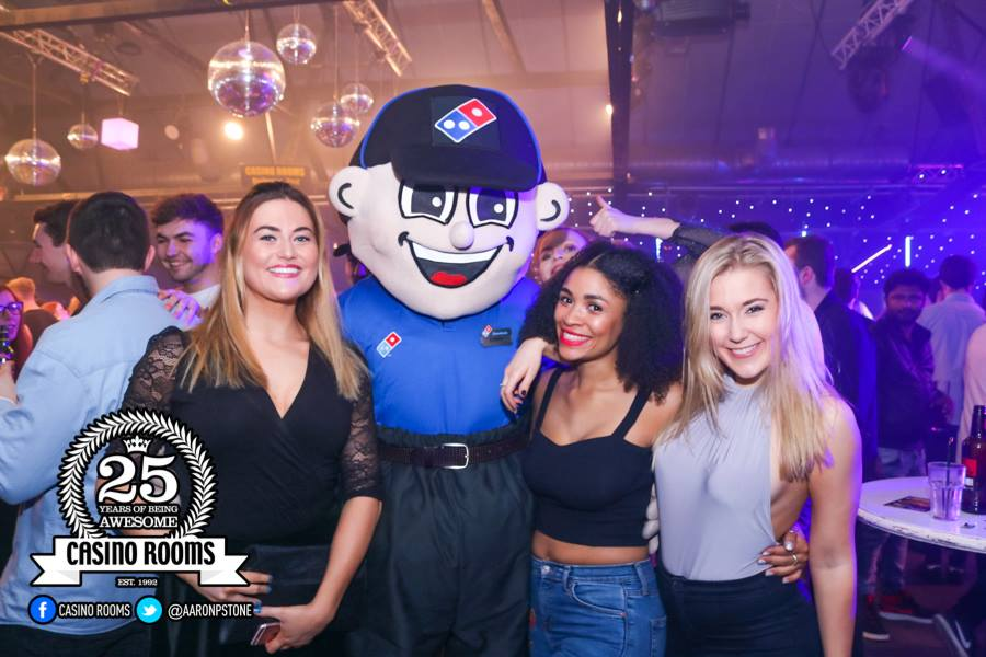 CASINO SAT 3rd MARCH 2018 - THE OFFICIAL DOMINO'S PIZZA PARTY
