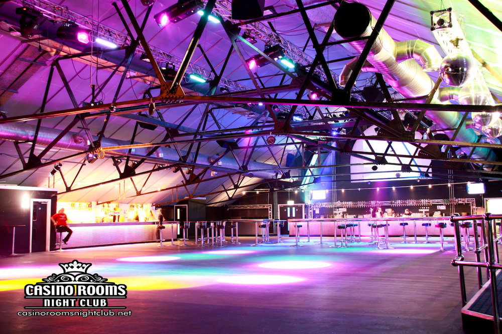 Casino Rooms - Kent's Biggest & Best Event & Private Hire Venue    Not only is Casino Rooms Kent's BIGGEST & Most Well Attended Nightclub, it is also one of the most well equipped & experienced Multi-Room Private Hire Venues in the UK. So if you are thinking about putting on a medium to large event/gig/show, please message us now! No event too weird, wonderful or crazy - we can do it all! No time wasters though please. We only work with people who are serious about putting on something special and have a proper plan to make it happen.