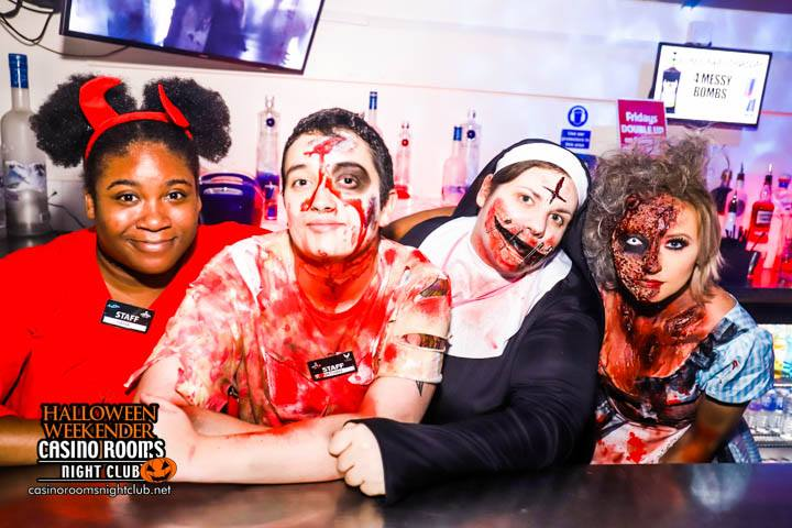 CASINO FRI 26TH OCT 2018 CLUBLAND'S No1 HALLOWEEN EXPERIENCE