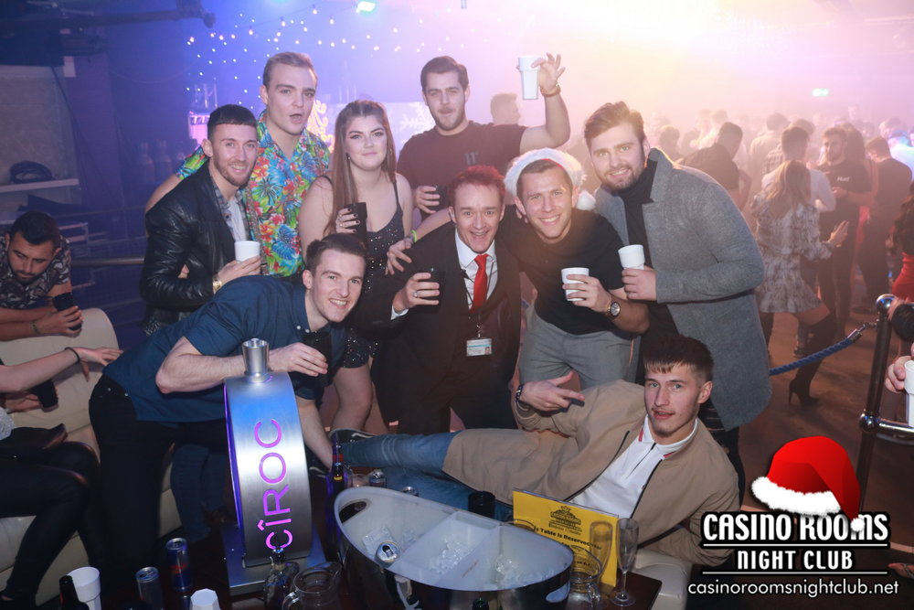 CASINO ROOM'S BIGGEST EVER CHRISTMAS EVE PARTY