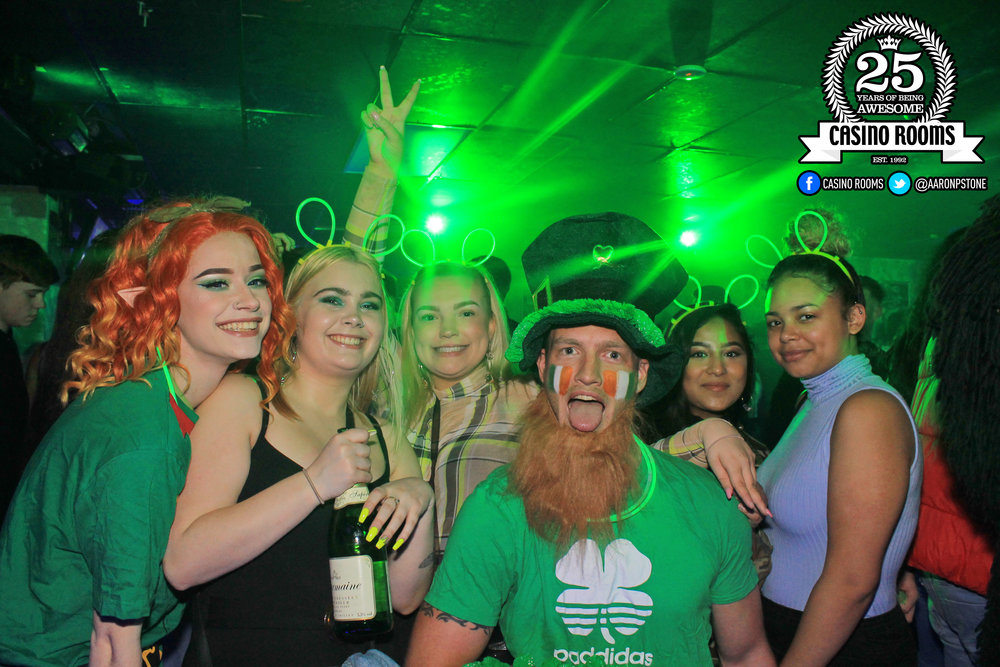 CASINO SAT 16th MARCH 2019 - BIGGEST EVER ST PATRICK'S DAY BASH!
