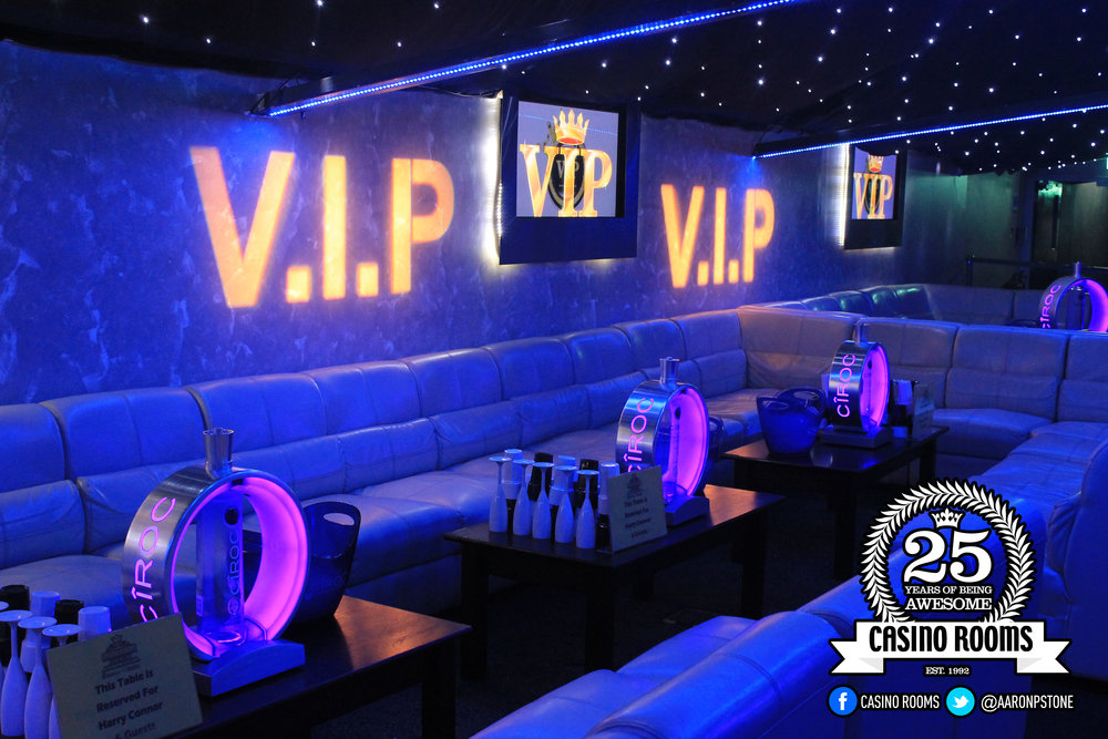 CASINO ROOMS VIP TABLES & BOOTHS -