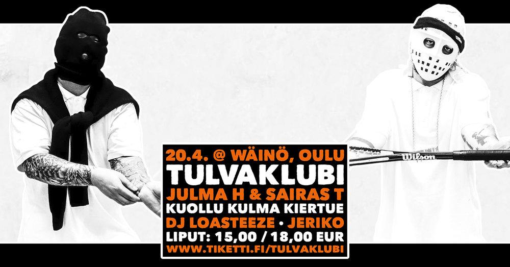Julma h x Sairas t - Jeriko - Dj Loasteeze Oulu Tulvaklubi.jpg