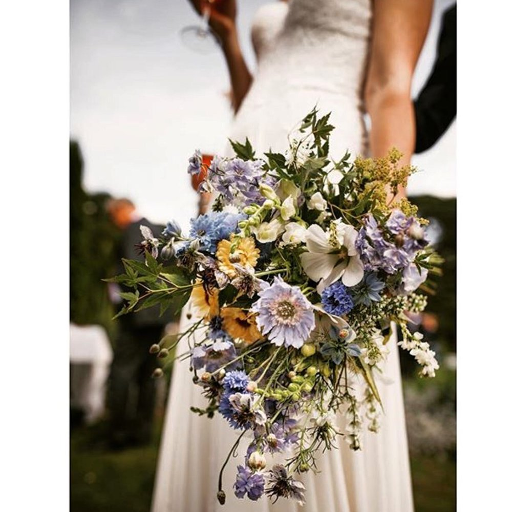 Wild flower bouquets for Weddings in Cheshire, Manchester and Liverpool