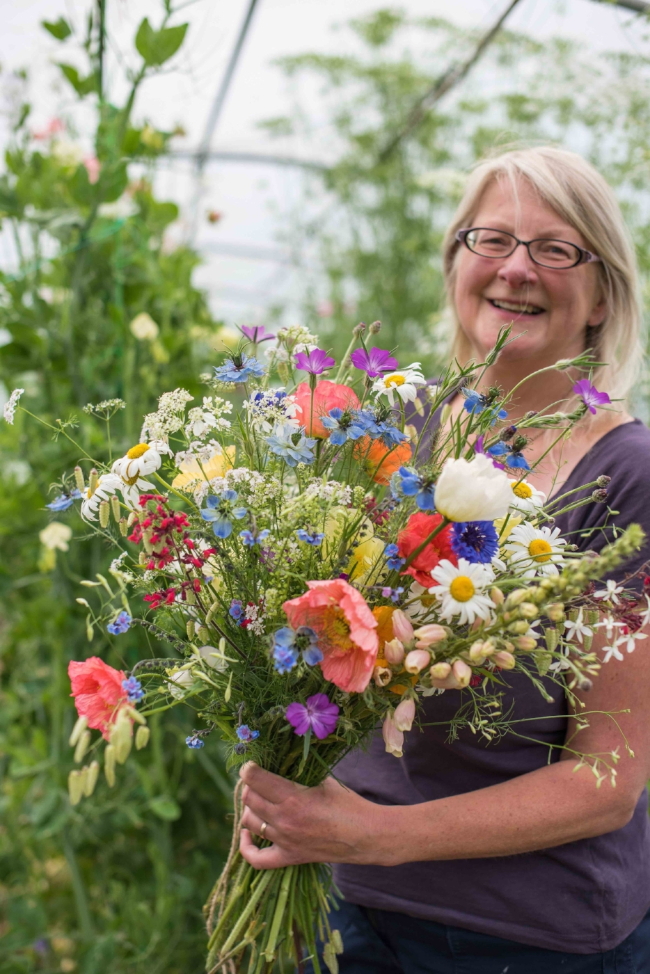 Flower growing workshops in Cheshire