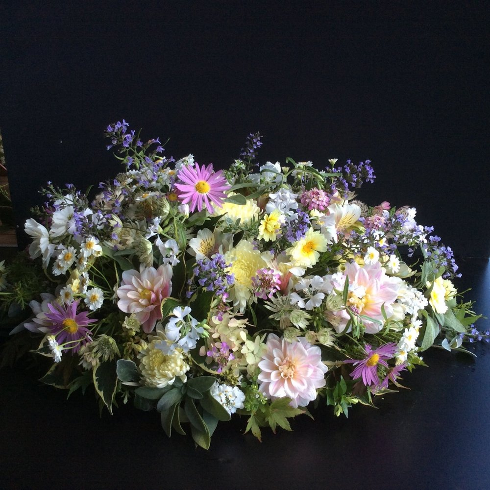 Wild flowers for funerals in Cheshire