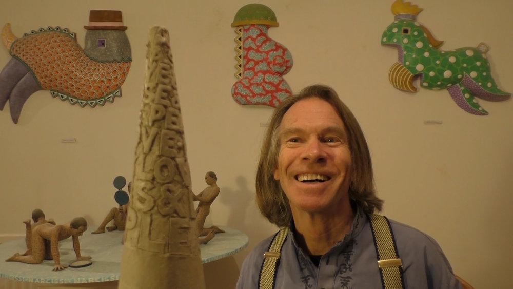 Sculptor Andrew Wood