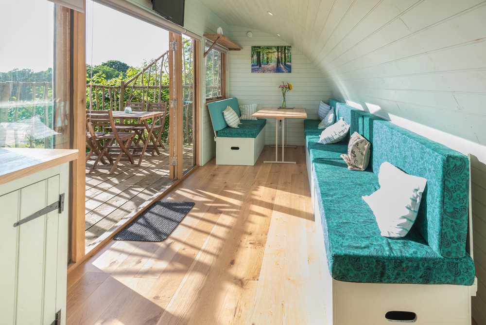 luxury glamping pod wales