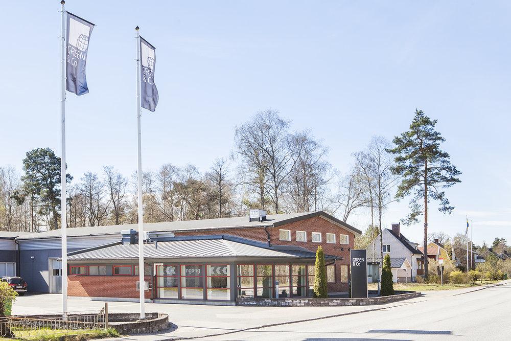 Service & Lager i Anderstorp.