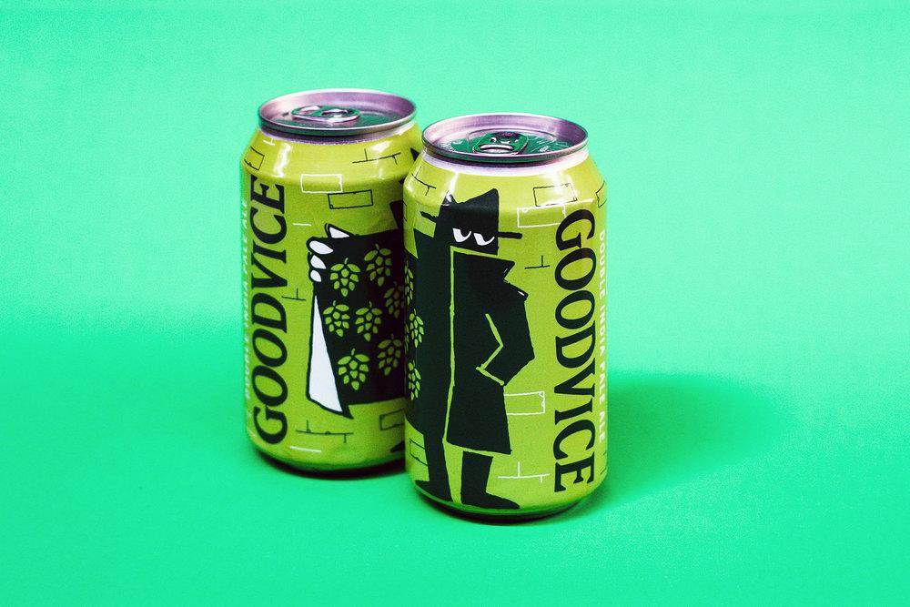 Wild Heaven Beer Goodvice Branding