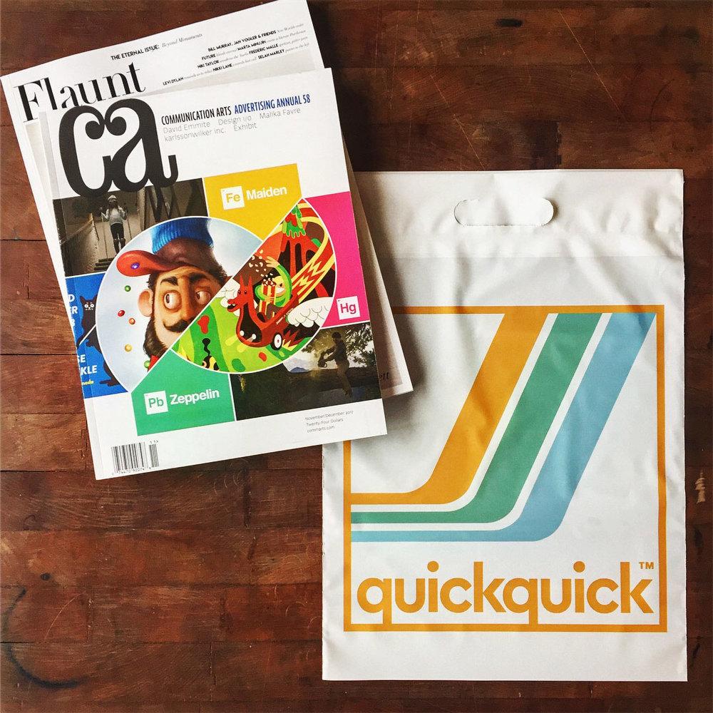 QUICK QUICK - Visual Identity, Signage, Merchandise