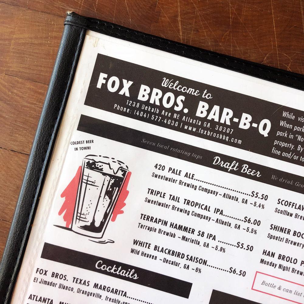 FOX BROS. BAR-B-Q - Brand Maintenance, Event Design