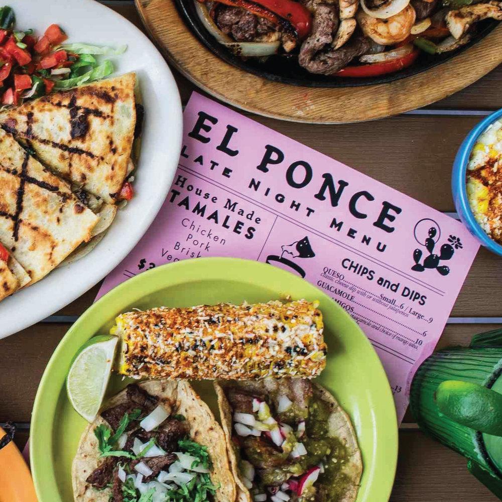 El Ponce - Restaurant Rebrand