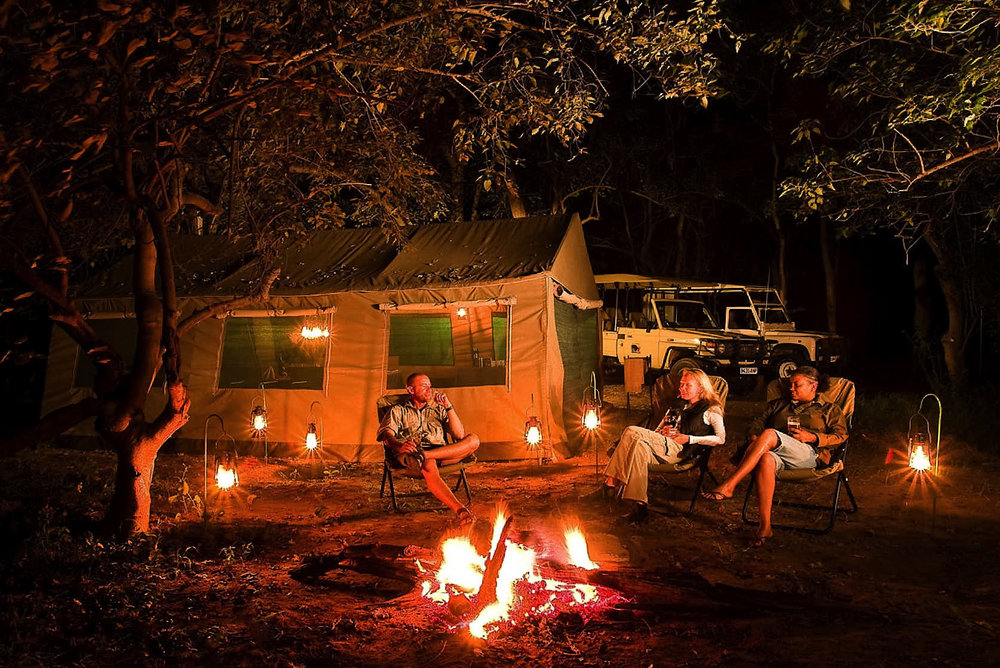 Camp Savuti - Savuti is known for its excellent game and offers good sightings throughout the year.Within the park SKL operates an impressive camping ground of 14 camping sites.