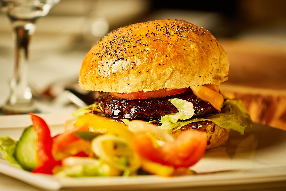 Who can resist our delicious burgers?!