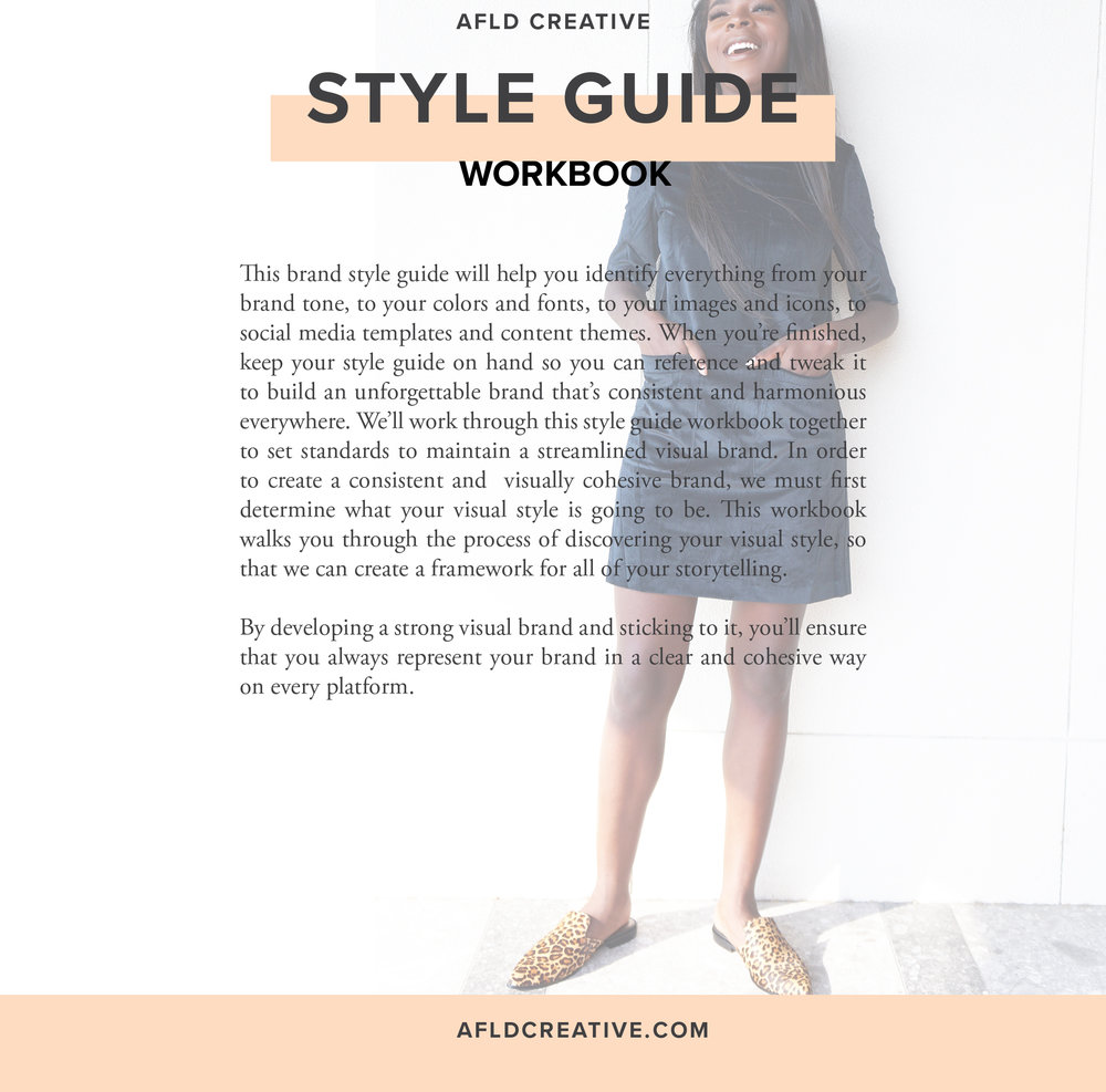 AFLD Creative Branding Agency shares a free Style Guide