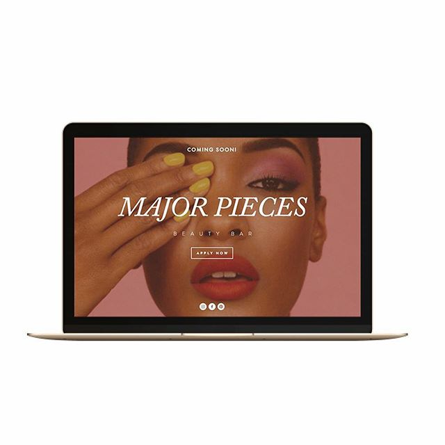 We dedicate Thursday's to organize deliverable files to get ready for launch.  Our client @majorpiecesbeautybar will be opening a very posh and modern beauty bar. We have the pleasure of working on their web design and social media management.  Of course, we'll do a overview of the process soon.
