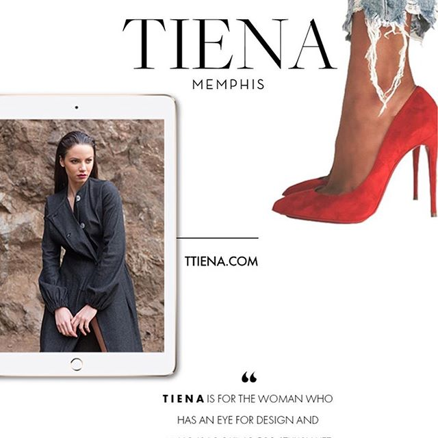 Happy Tuesday Friends!  We are so excited to share the work we've done with our latest client TIENA.  Tiena Gwin of T I E N A has been a friend of ours for quite some time. Our founder, Andrea Fenise, worked in fashion design for 5 years and met TIENA during a fashion show. Andrea Fenise has always been passionate about helping those in the fashion industry style their brand and grow their business.  Tiena approached us to elevate her personal relationship further by having us a part of her rebranding. She wanted to develop, design, and brand a new online presence for a new direction she wanted to take T I E N A.  Take a look at how we styled her business and her brand.