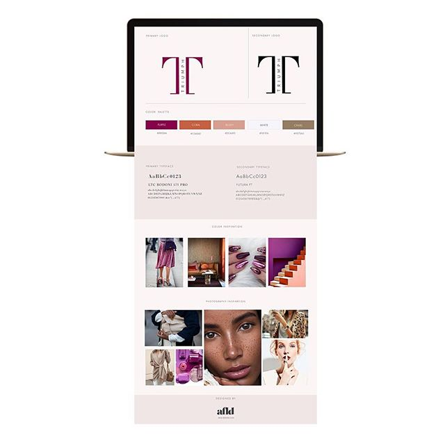 So, so in love with the branding work, we are doing with a soon to launch cosmetic brand.  We're so excited to see all of the brand elements implemented from beginning to end.