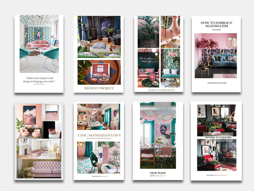 AFLD Creative Memphis Branding and Creative Agency shares the importance of Instagram Templates