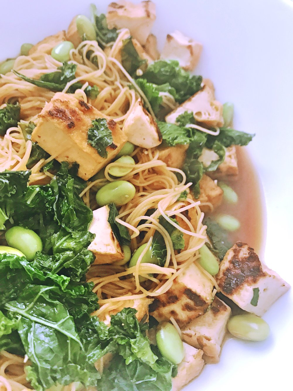 Asian Noodle Bowl Tempeh