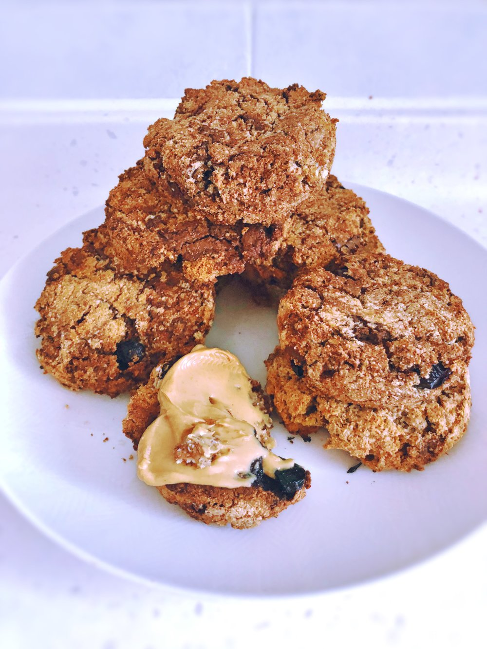 gluten free vegan lectin free blueberry cookie