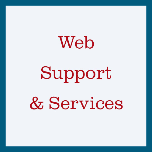 Web Support & Services