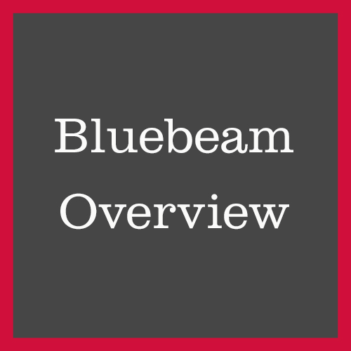 Bluebeam overview