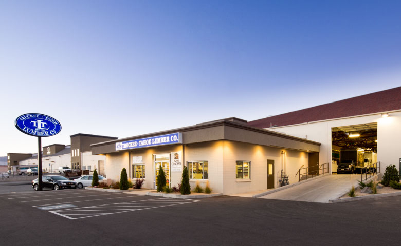 Truckee Tahoe Lumber Center on Hymer Avenue in Sparks is a great example of bringing an outdated warehouse up to code and structural integrity to deliver a great value.