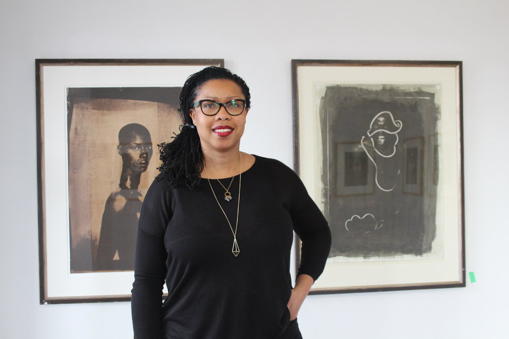 BAND's co-founder Karen Carter wants to start important conversations through the group's art. (Photo by Dagmawit Dejene/CanCulture).