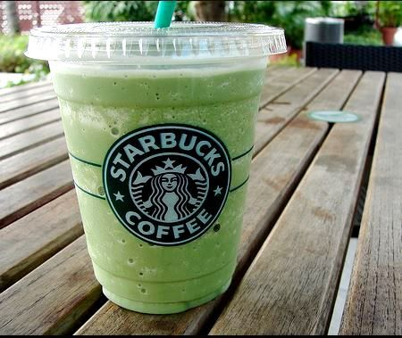 Starbucks Green Tea Soy Frappuccino (Urban Tastebud)