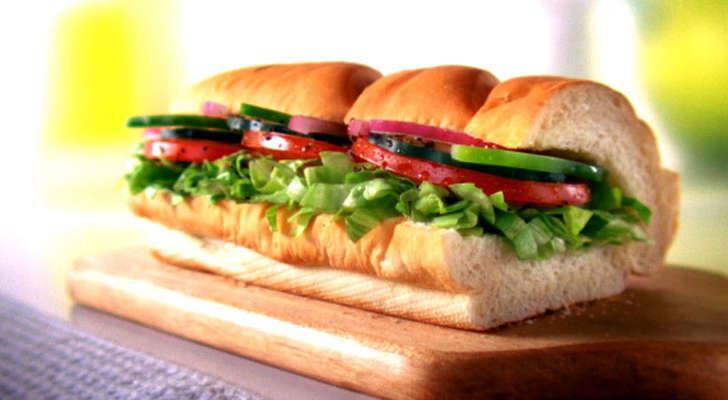 Subway's Veggie Delite (Subway)