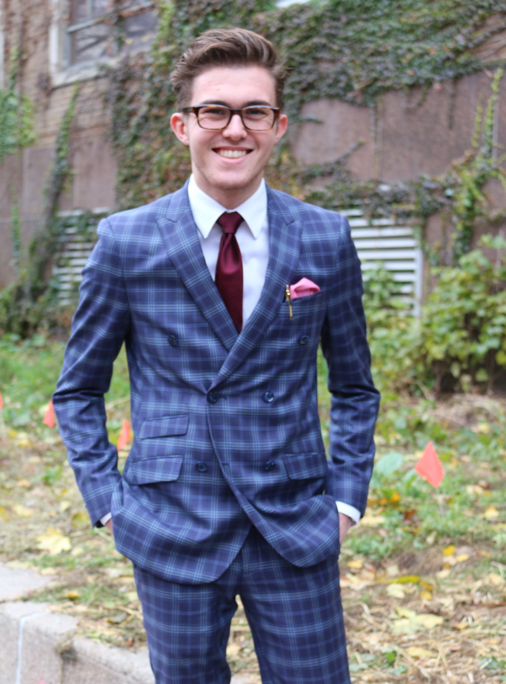 Nathaniel Doody, first-year fashion design student at Ryerson