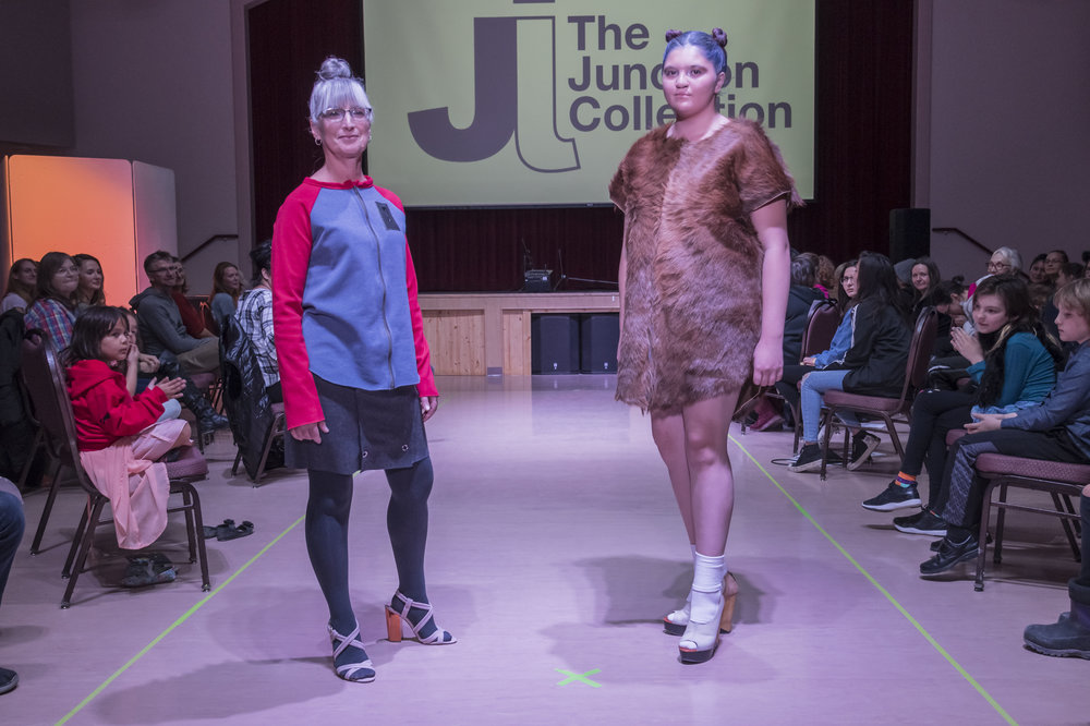 Henry Navarro's designs showcased at the Junction Artist in Residence program fashion show in October 2018. (Courtesy of Bruce Binder Photography)