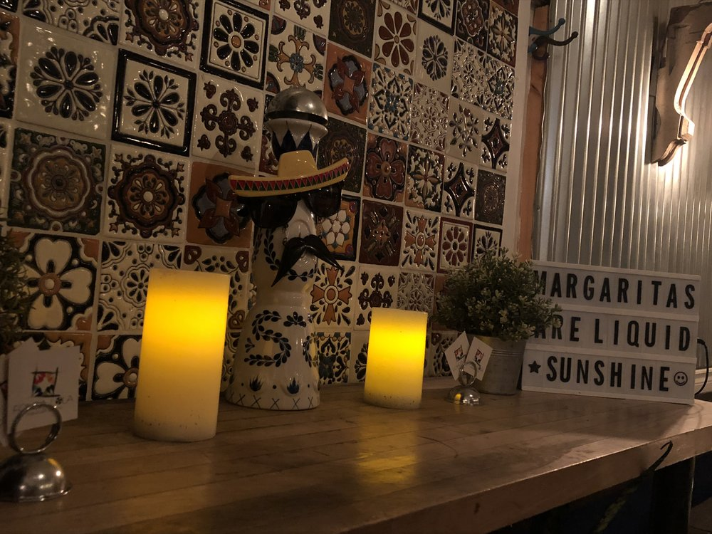 General Manager Rafael Bastidas said they tried to incorporate things inside Fonda Lola that referenced Mexico. Included in the decorations are also memorabilia of the owner's late grandmother, whom the name of the restaurant was inspired from. (CanCulture/Sophie Chong)