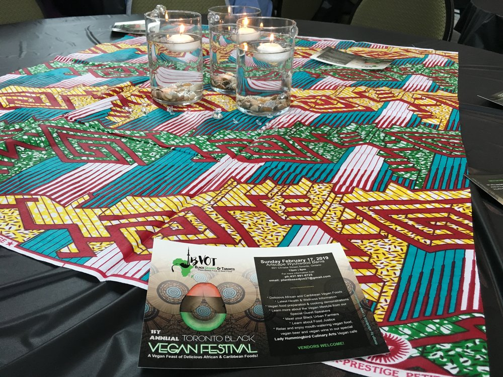 The first annual Toronto Black Vegan Festival was a chance for the black Canadian vegan community to connect. (CanCulture/Severina Chu)