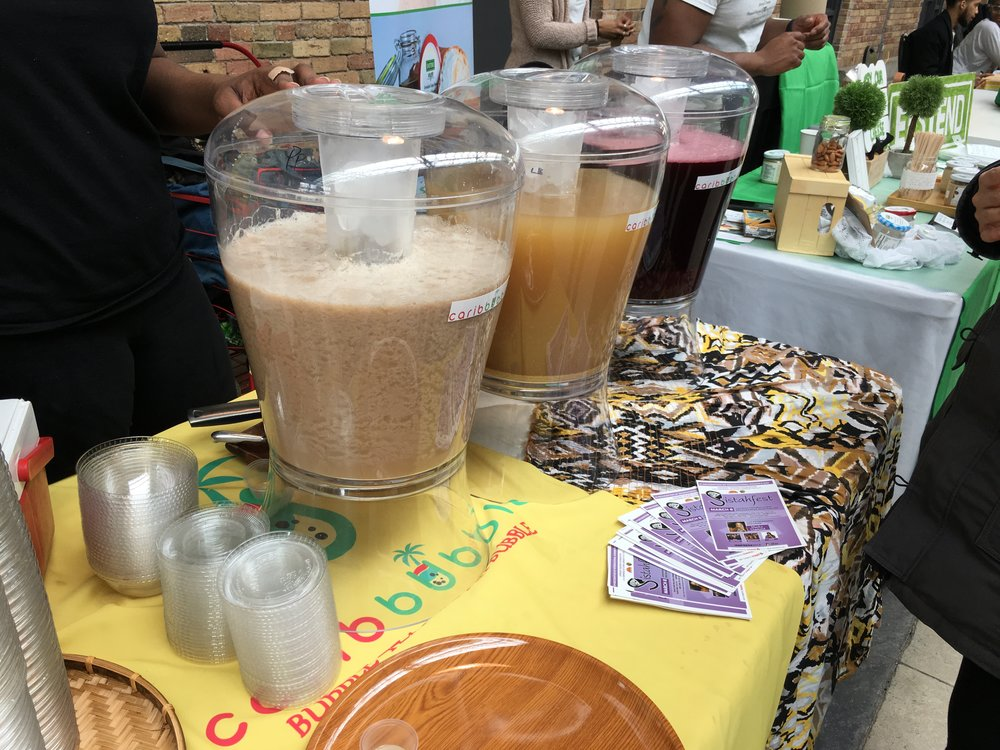 Owyna Alexander wanted to create her own version of bubble tea that included flavours from her culture. (CanCulture/Severina Chu)