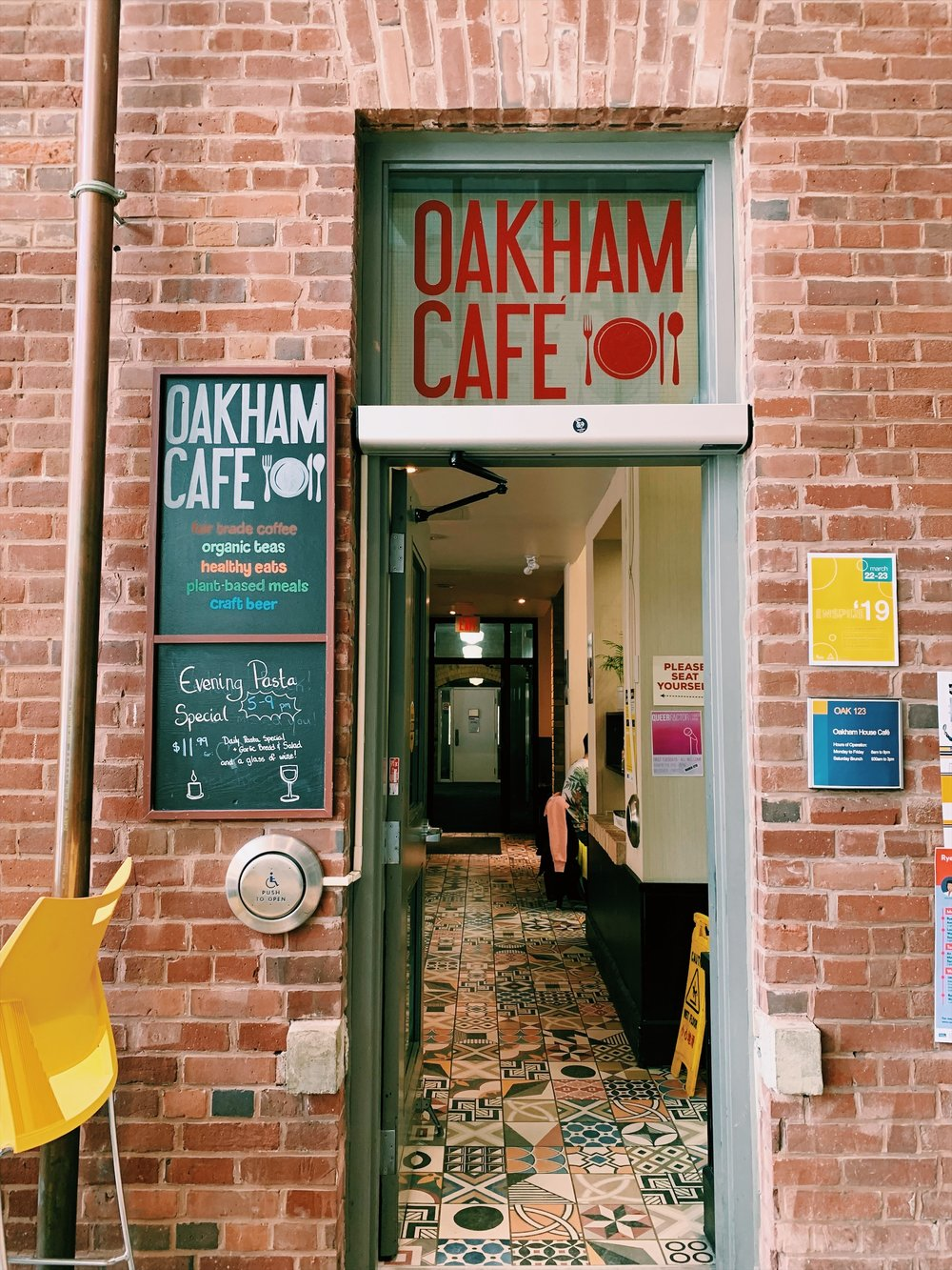 Oakham Café in the Ryerson Student Centre offers a cozy environment with mouth-watering food options. (CanCulture/Akanksha Dhingra)