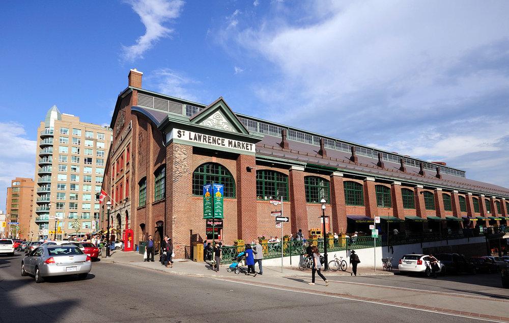 St. Lawrence Market in Toronto. (Photo courtesy Wladyslaw/Wikimedia Commons)