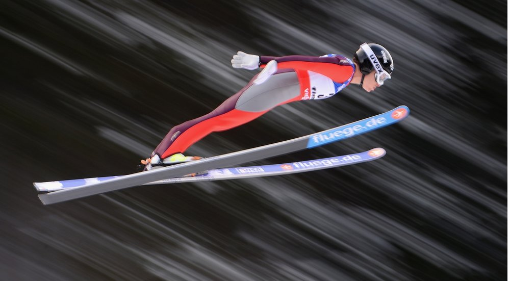 Lindsey Van, U.S. Ski Jumper who cannot compete in the Winter Games; she's a woman ski jumper.