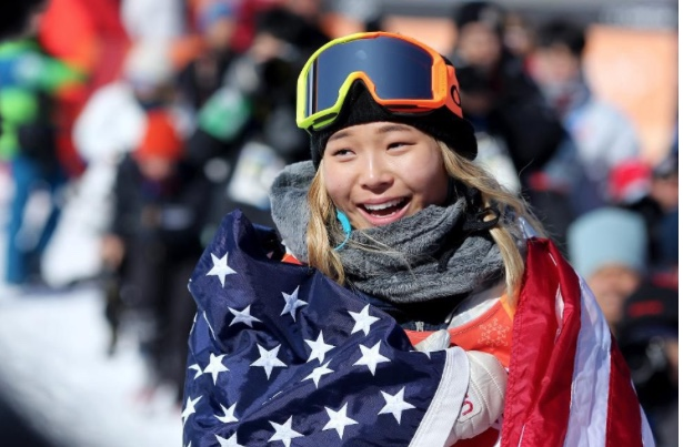 Chloe Kim, gold medalist in snowboarding 2018 Winter Olympics
