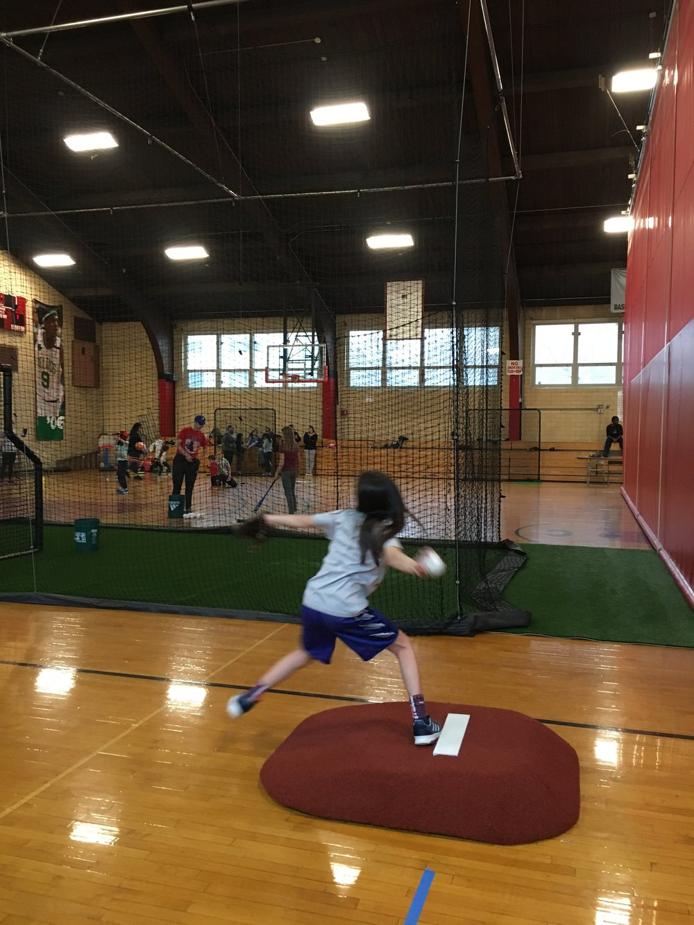 Pitch Like a Girl, the Boston Slammers
