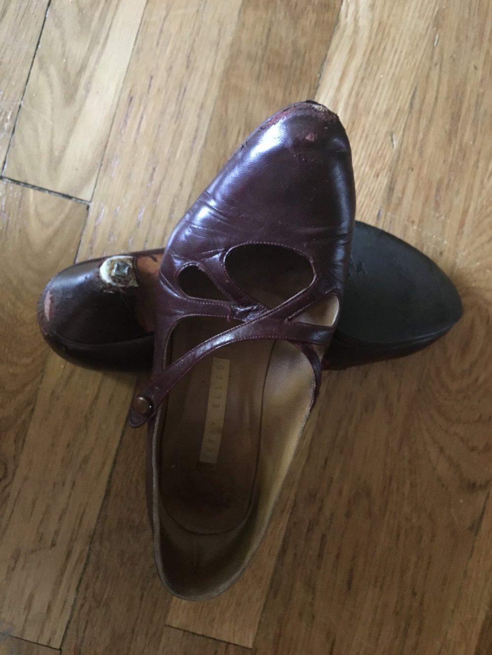 My last high heels.