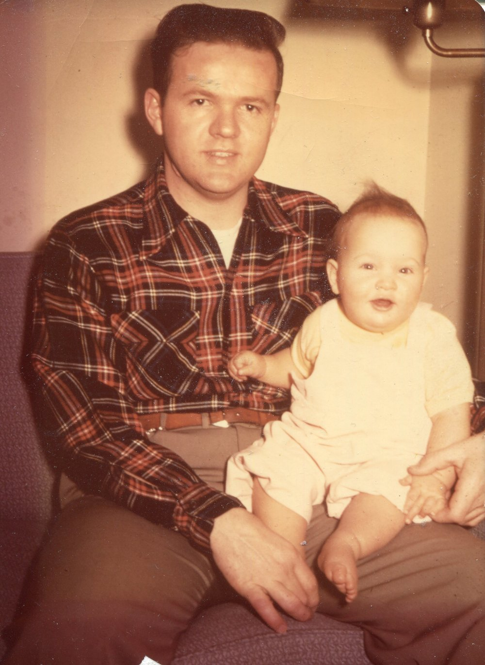 My dad and me.