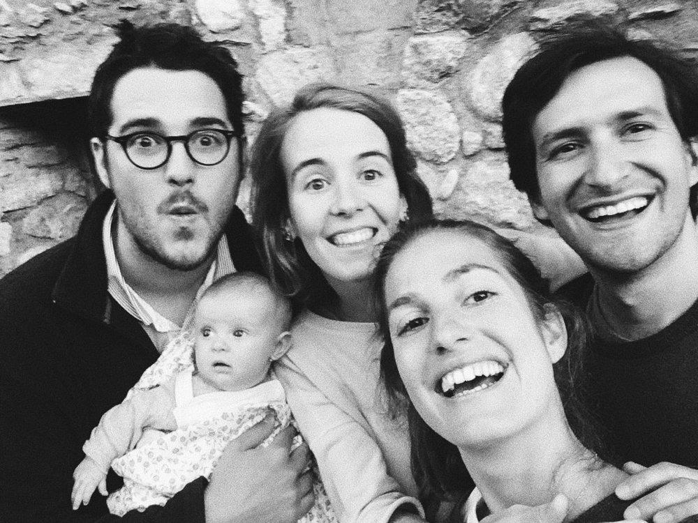 Ignacio Infiesta, (Anna), Nuria de Arana, María Comella y Alex Jaumandreu