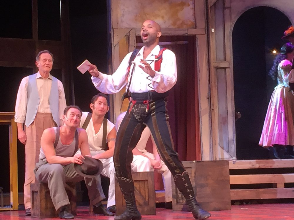 """ Bill Calhoun"",    Kiss Me Kate,   Maltz Jupiter Theatre, Jupiter, FL."